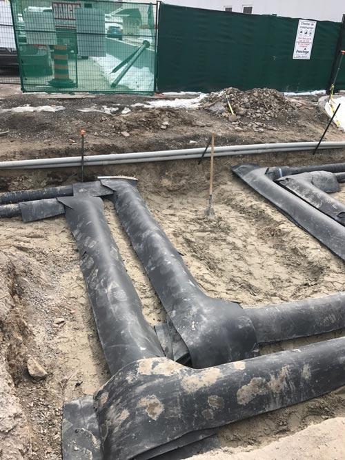 underground plumbing