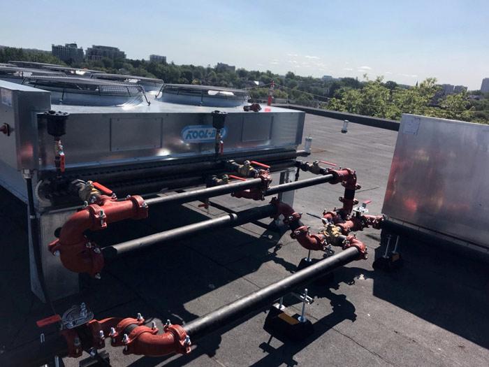 rooftop plumbing